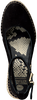 Schwarze FRED DE LA BRETONIERE Espadrilles 153010158  - small