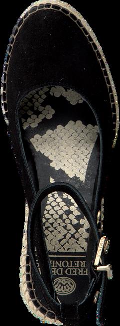 Schwarze FRED DE LA BRETONIERE Espadrilles 153010158  - large