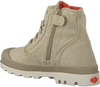 Beige PALLADIUM Ankle Boots PAMPA HI KIDS - small
