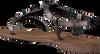 LAZAMANI Chaussure 75.542 en argent  - small