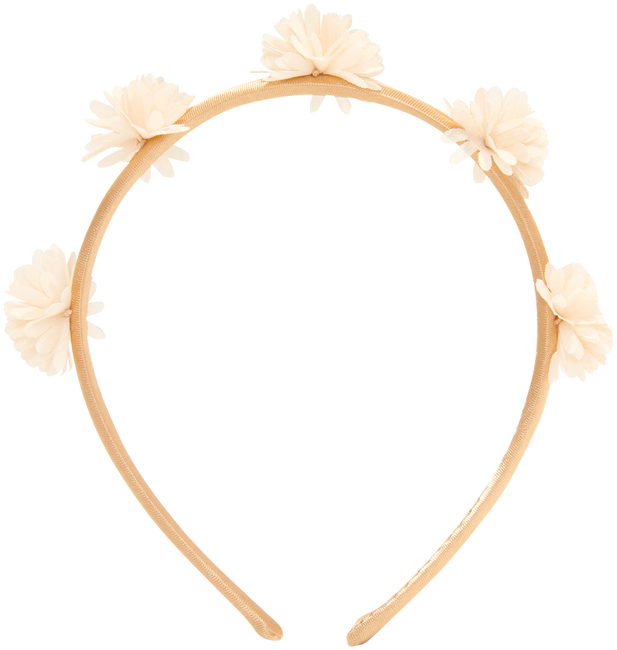Goldfarbene LE BIG Stirnband ROSANNE HEADBAND  - large