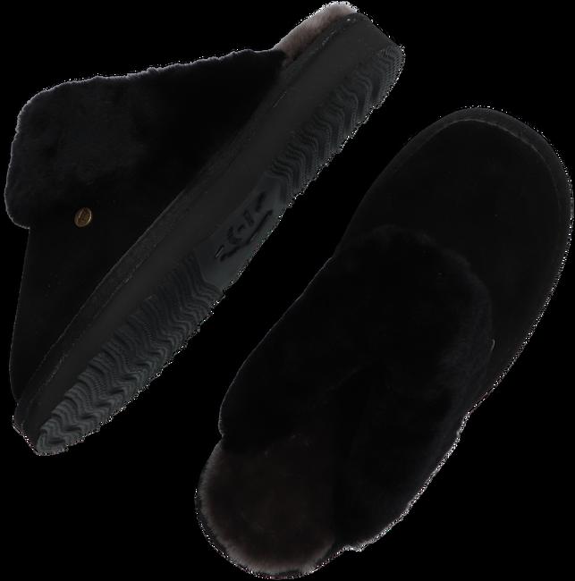 Schwarze WARMBAT Hausschuhe FLURRY  - large