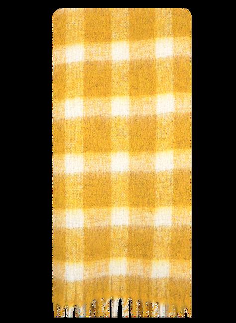 Gelbe BECKSONDERGAARD Schal ISOBELL SCARF  - large