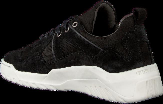 Schwarze CYCLEUR DE LUXE Sneaker ILLINIOS  - large