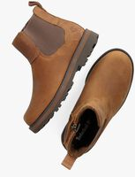 Braune TIMBERLAND Chelsea Boots COURMA KID  - medium