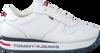 Weiße TOMMY HILFIGER Sneaker low FLATFORM RUNNER  - small