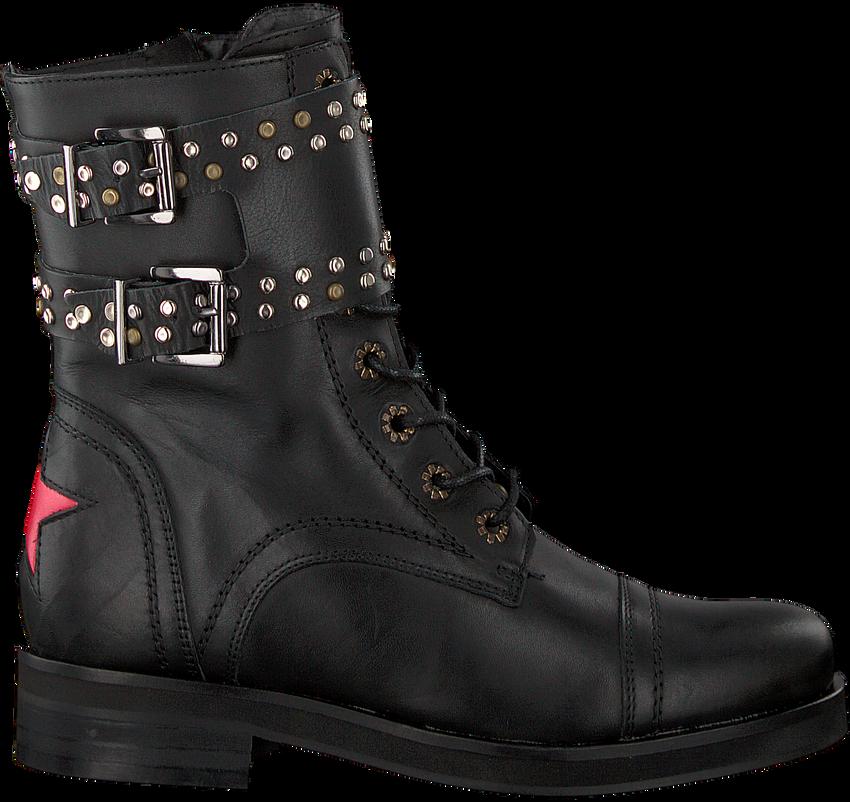 Schwarze DEABUSED Biker Boots HOLLY BIKER - larger