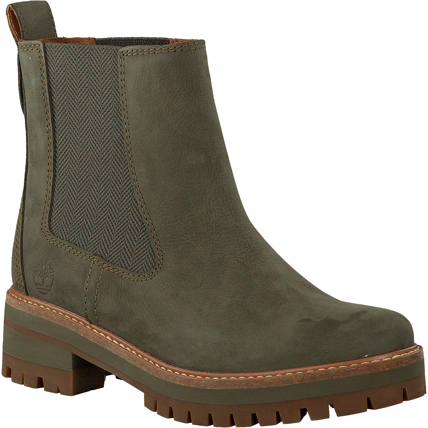 separation shoes 64cd2 8cb5c Grüne TIMBERLAND Chelsea Boots COURMAYEUR VALLEY CH