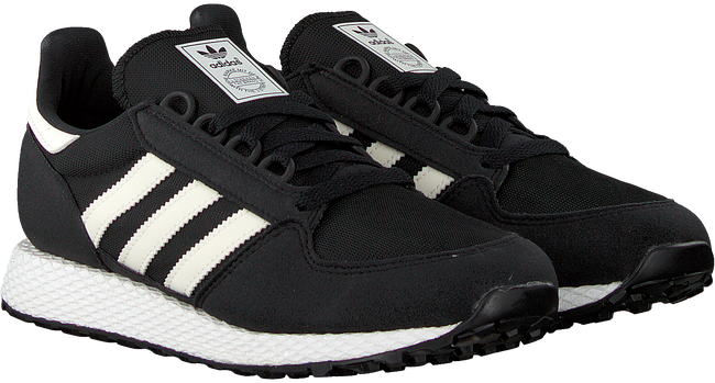 Schwarze ADIDAS Sneaker FOREST GROVE J  - large