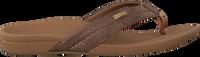 Bronzefarbene REEF Pantolette ORTHO SPRING  - medium