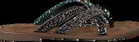 Schwarze LAZAMANI Pantolette 75.526 - medium