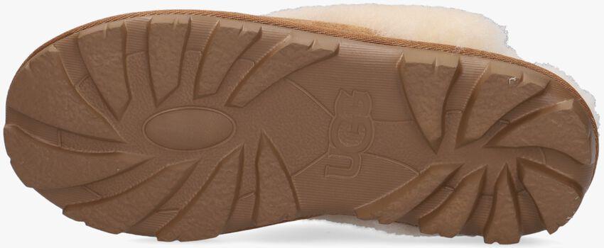 cognac UGG shoe COQUETTE  - larger