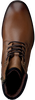 Cognacfarbene OMODA Schnürstiefel MRUMEO601 - small