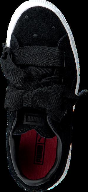 Schwarze PUMA Sneaker SUEDE HEART VALENTINE IN - large