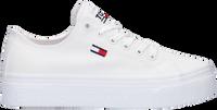 Weiße TOMMY HILFIGER Sneaker low TOMMY JEANS FLATFORM VULC  - medium