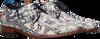 Blaue REHAB Business Schuhe GREG CROCO DUO 121  - small