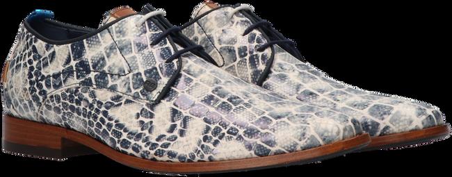 Blaue REHAB Business Schuhe GREG CROCO DUO 121  - large