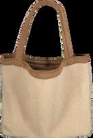 Beige STUDIO NOOS Shopper TEDDY LAMMY MOM-BAG  - medium