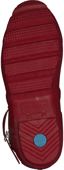 Rote HUNTER Gummistiefel WOMENS ORIGINAL SHORT - large