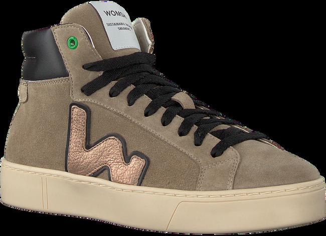 Beige WOMSH Sneaker high BASK  - large