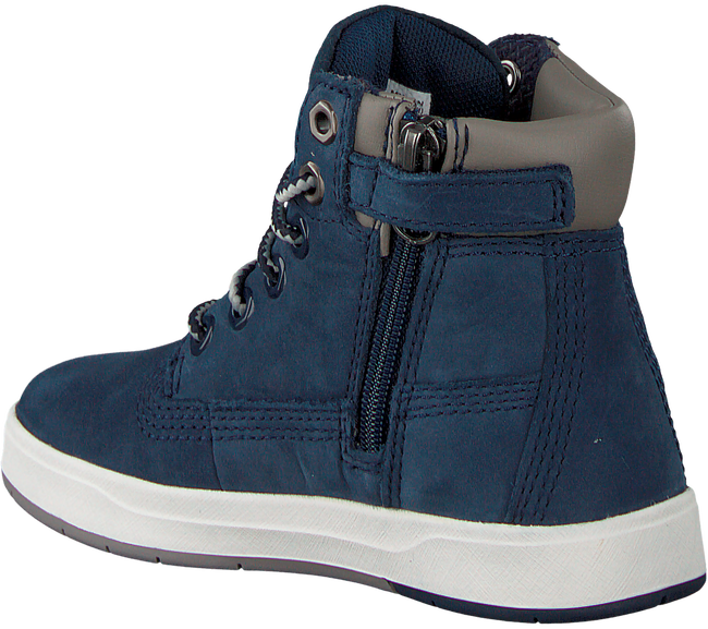 Blaue TIMBERLAND Ankle Boots DAVIS SQUARE 6 KIDS - large