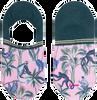 Mehrfarbige/Bunte XPOOOS Socken KOKO INVISIBLE  - small