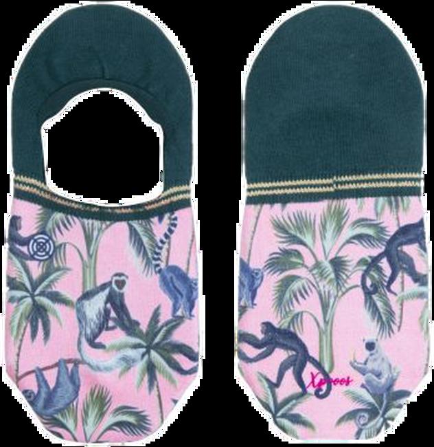 Mehrfarbige/Bunte XPOOOS Socken KOKO INVISIBLE  - large