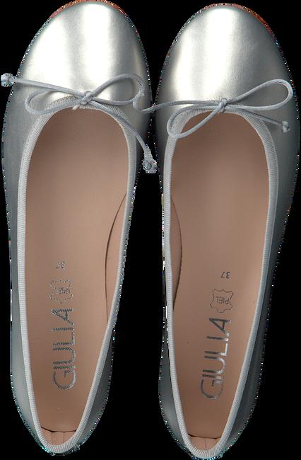 Silberne GIULIA Ballerinas G.12.BALLERINA  - large