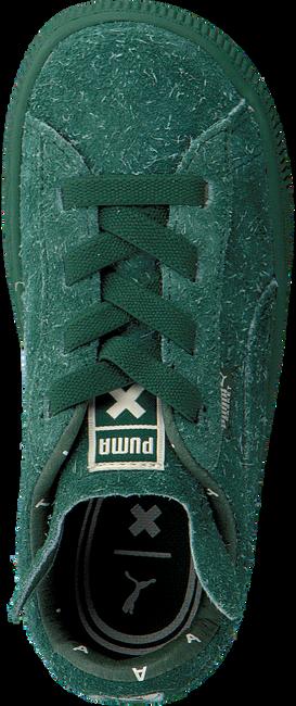 Grüne PUMA Sneaker PUMA X TC BASKET FURRY - large