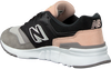 Schwarze NEW BALANCE Sneaker low CW997  - small