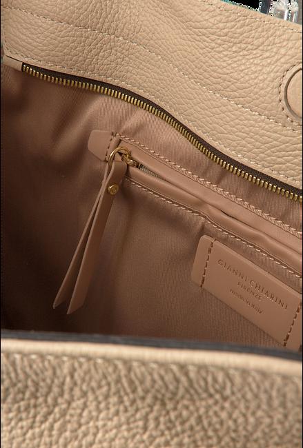 Beige GIANNI CHIARINI Handtasche IRIS  - large