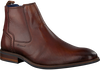 Cognacfarbene BRAEND Ankle Boots 24703 - small