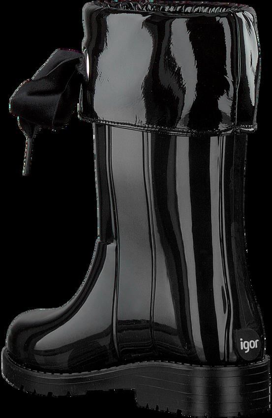 Schwarze IGOR Gummistiefel CAMPERA CHAROL  - larger