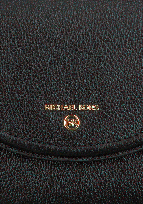 Schwarze MICHAEL KORS Handtasche MD HLF DOME CHN XBDY  - large
