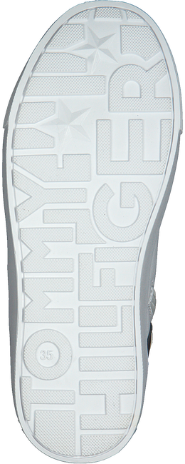 Weiße TOMMY HILFIGER Sneaker high 30928  - large