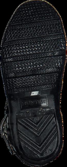 Schwarze HUNTER Gummistiefel ORIGINAL KIDS GLOSS - large