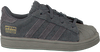 Graue ADIDAS Sneaker SUPERSTAR KIDS 1 - small