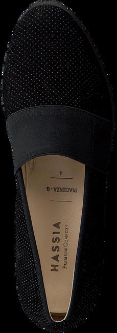 Schwarze HASSIA Slipper 1654 - large