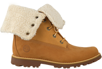 Camelfarbene TIMBERLAND Ankle Boots 6IN WP SHEARLING BOOT - medium
