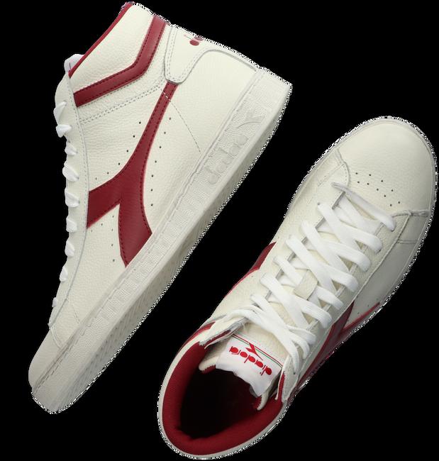 Weiße DIADORA Sneaker high GAME L HIGH WAXED  - large