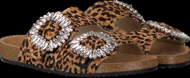 Schwarze TORAL Pantolette 10865  - large
