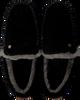 Schwarze WARMBAT Hausschuhe MALMO MEN SUEDE - small