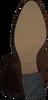 Cognacfarbene NOTRE-V Hohe Stiefel MARTINA1  - small