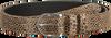 Cognacfarbene LEGEND Gürtel 25180  - small