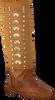 Cognacfarbene KARMA OF CHARME Stiefeletten SINCRONIA - small