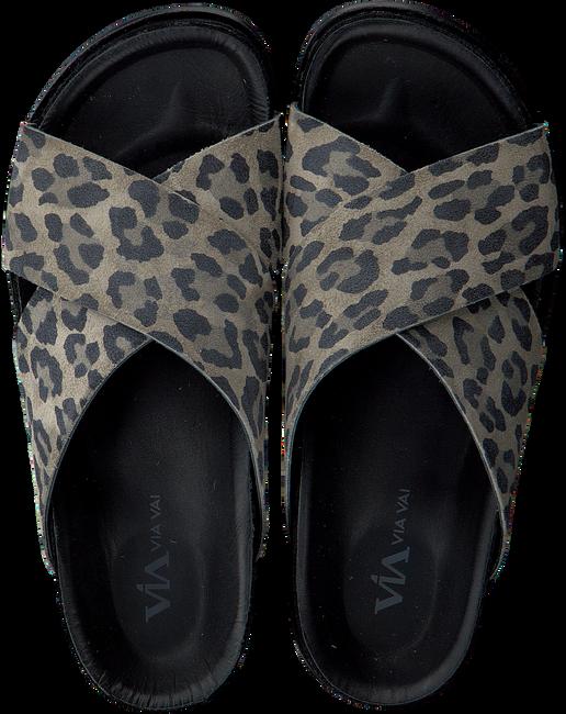 Grüne VIA VAI Pantolette 5213071 - large