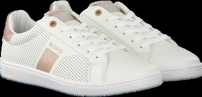 Weiße BJORN BORG Sneaker T307 LOW PRF MET T  - large
