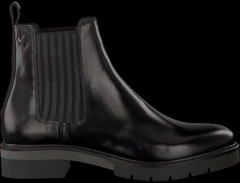 schwarze tommy hilfiger chelsea boots r1285oxana 2a jetzt im sale. Black Bedroom Furniture Sets. Home Design Ideas