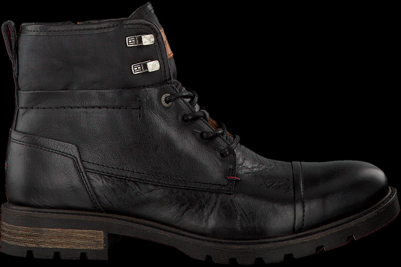 Schwarze TOMMY HILFIGER Ankle Boots CURTIS 13A - Jetzt im Sale ... 035194b5ad