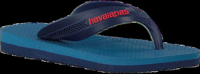 Blaue HAVAIANAS Zehentrenner KIDS MAX TREND  - large